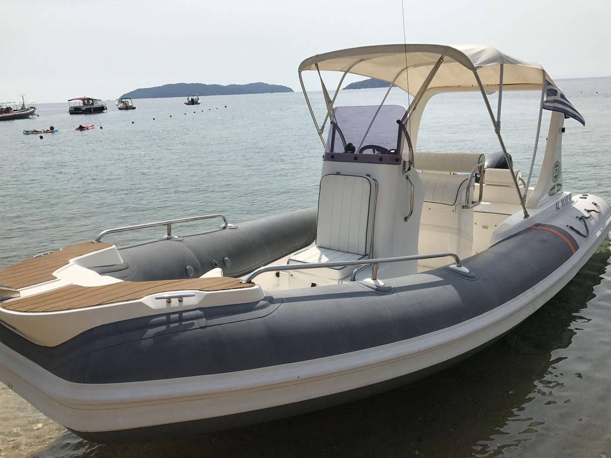 skiathos rent boat