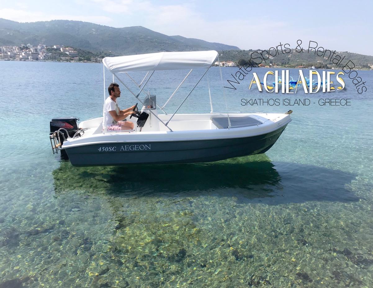 skiathos rent boats