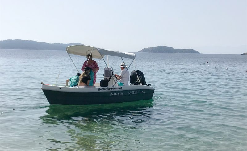 skiathos rent boats,polyester